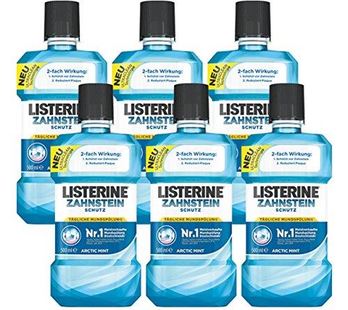 Listerine Zahnsteinschutz, 6er Pack (6 x 500 ml)