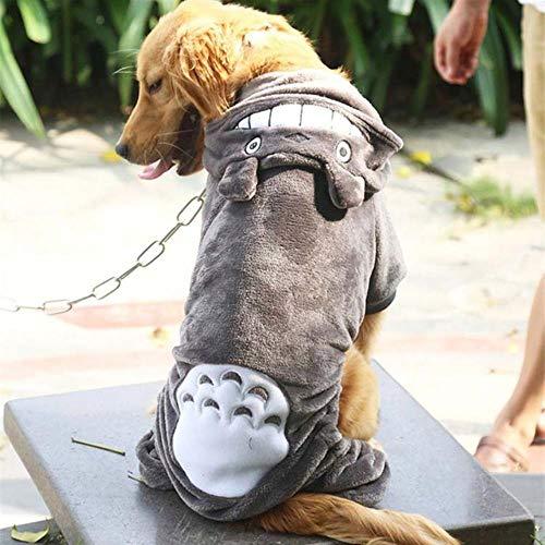 FHKGCD Ropa para Grandes Chaqueta De Abrigo De Invierno Cálido para Mascotas Trajes De Ropa para Grandes Sudadera con Capucha para Golden Retriever Pitbull 9XL