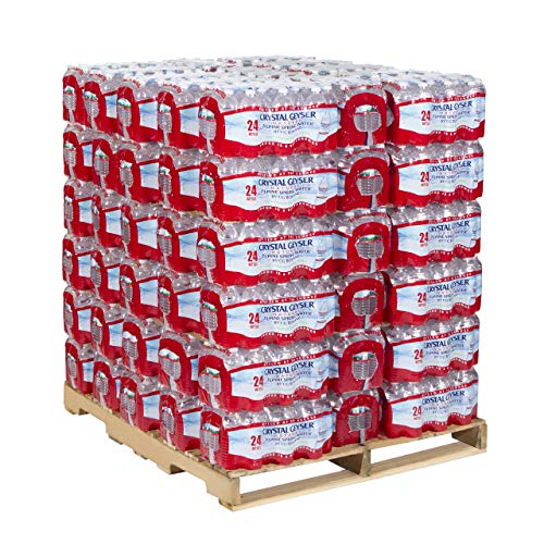 Crystal Geyser, 24514, Alpine Spring Water, 16.9 oz Bottle, 24/Case, 84 Cases/Pallet