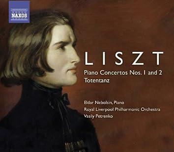 LISZT, F.: Piano Concertos Nos. 1, 2 / Totentanz (Nebolsin)