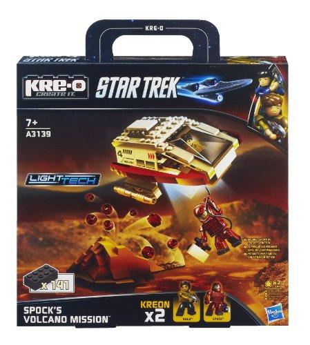 Hasbro A3139E24 - KRE-O Star Trek Spock's Volcano Mission - Baukasten