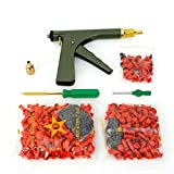 BoTaiDaHong Portable Car Tire Motorcycle Tire Plugger Tubeless Tyre Wheel Repair Gun Kit with Rubber Plugs