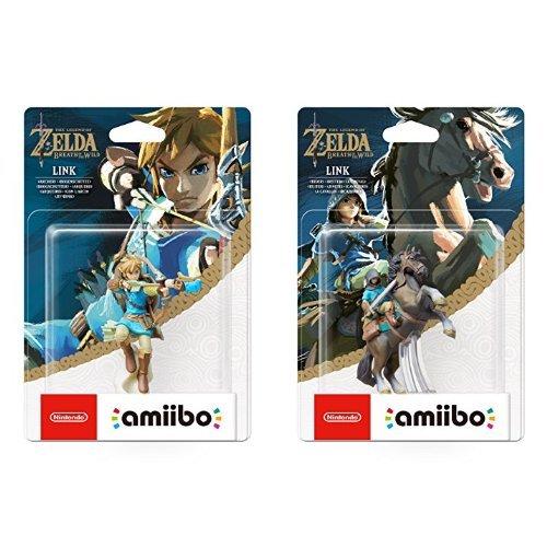 amiibo The Legend of Zelda Collection Link Bogenschütze (Breath of the Wild) & amiibo The Legend of Zelda Collection Link Reiter (Breath of the Wild)
