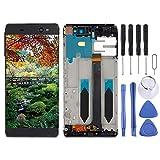 LIJUNGUO Pantalla LCD y Conjunto Completo de digitalizador con Marco for Sony Xperia XA Ultra / C6 / F3211 / F3212 / F3215 / F3216 / F3213 (Color : Black)