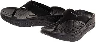 Hoka 1099676-BDGGR: Women's Black/Dark Gull Gray Ora Recovery Flip Sneaker