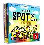 A Little SPOT of Life Skills 8 Book Box Set (Books 17-24: Courage, Perseverance, Teamwork, Talent, Thankful, Optimism, Creativity, & Giving)