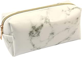Crazy-store Marble Cosmetic Bag Makeup Brush Powder Makeup Tool Storage Pouch for Adult Making up Bag