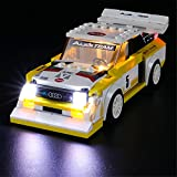 BRIKSMAX Led Lighting Kit for 1985 Audi Sport Quattro S1 - Compatible with Lego 76897 Building Blocks Model- Not Include The Lego Set