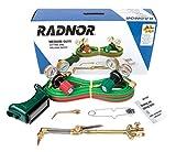 Radnor Model 250-510DLX Victor Style Medium Duty Acetylene CuttingWelding Outfit CGA-510
