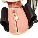 OUUCL-WALKER Constraint Nonslip Rollstuhl-Schuhe - Halten Sie Ihre Füße EIN Abrutschen Rollstuhl Pedale Fußstützen Männer Frauen - Medizinische Fuss Proctors - for Ältere Patienten Handicap Recover -