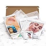 Revitale Beauty Spa 'Look Good' - Juego de cesta de regalo, colágeno, limpiar, hidratar (cara, ojo, cuello, nariz, pies)