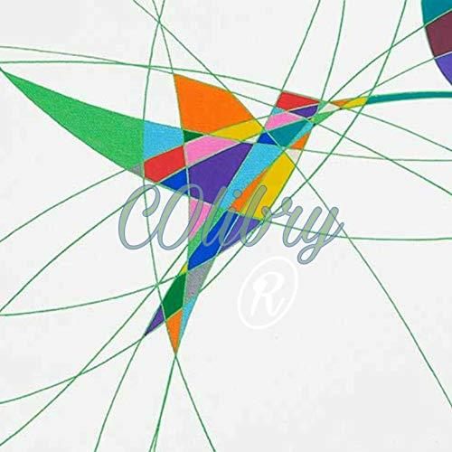 Baum para Hombre Country Chubasquero Plain Chaqueta Impermeable para Mujer con Capucha con Texto de Ligero con impresi/ón de colibr/íes y