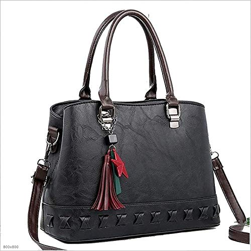 SHENAISHIREN Purses and Shoulder Handbags-for Women Crossbody Bag Messenger Bags (Color : Black)