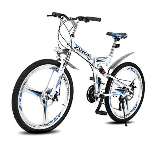 Qj Bicicleta De Montaña Bicicleta De 27 Velocidades MTB 26