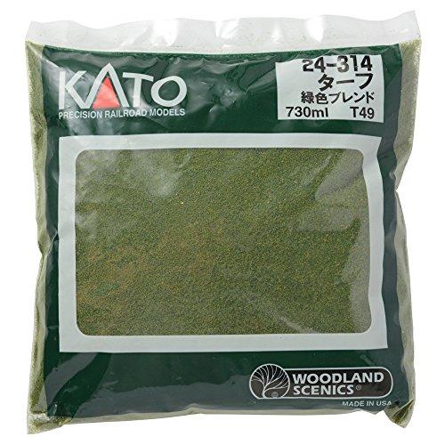 KATO ターフ 緑色ブレンド T49 24-314 ジオラマ用品