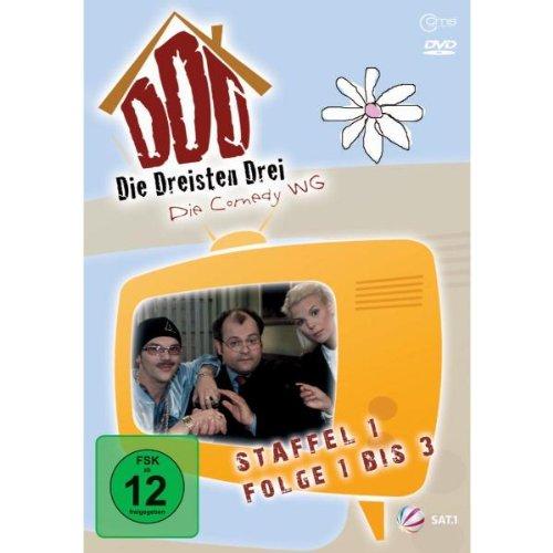 Die Dreisten Drei Die Comedy WG - Staffel 1, Folge 1 bis 3