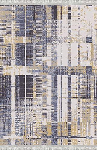 Bonamaison Alfombra con impresión Digital, Multicolor, 80 x 300 cm