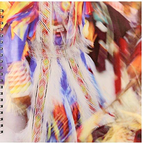 3dRose db_91580_2 indischer Indianer-Tanz, Montana US27 AJE0095 Adam Jones Erinnerungsbuch, 30,5 x 30,5 cm