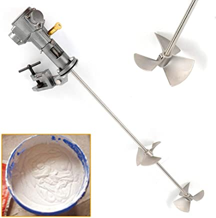 Pneumatic Mixer, 50 Gallon Stainless Steel Automatic Paint Mixer Machine Ink Coating Mix Tool (US Shipping)