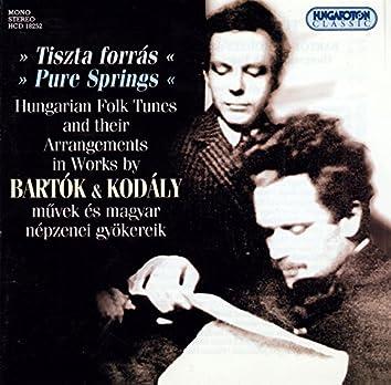 Bartok / Kodaly: Hungarian Folk Tunes and Their Arrangements