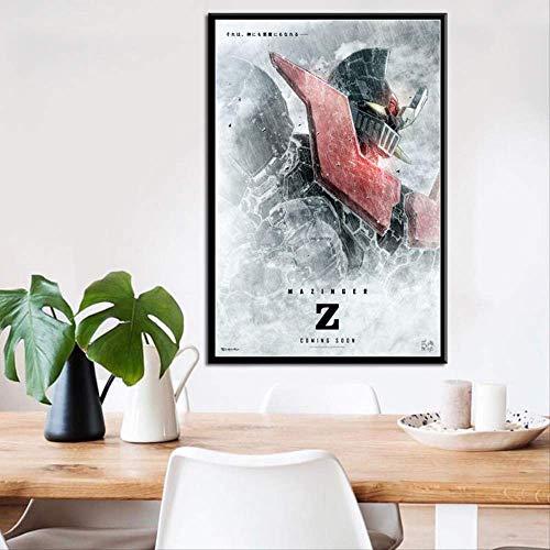 ysldtty Rompecabezas De 1000 Piezas Mazinger Z Classic Japan Anime Movie Seda Rompecabezas Juguetes para Adultos Niños Patrón Juguetes Educativos A-2469