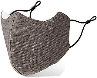[Amazon限定ブランド] マスク 秋冬用マスク 防寒 防風 保温機能 あったかい 息がしやすい スキー用 洗える 耳紐アジャスター付き 2枚入り FENQ コーヒー