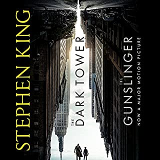 The Dark Tower I: The Gunslinger                   By:                                                                                                                                 Stephen King                               Narrated by:                                                                                                                                 George Guidall                      Length: 7 hrs and 19 mins     637 ratings     Overall 4.1