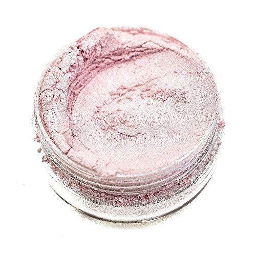KandyDip Effektpigment Light Rose Pearl Perlglanz Metallic Farbpulver Pigment für Epoxidharz Autolack Sprühfolie Pigmente Aquarell Seife Powder (25 Gramm)