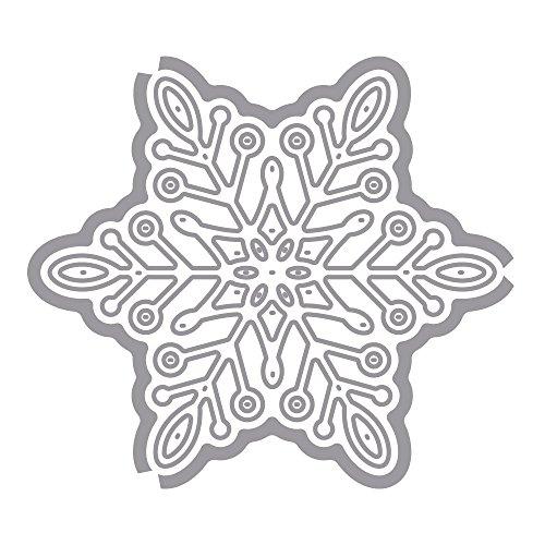 RAYHER 59707000 Stanzschablonen Schneeflocke, SB-Btl, 1 Stück
