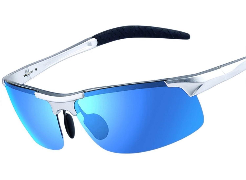 Arctic Starブルー偏光サングラス水銀反射サングラス