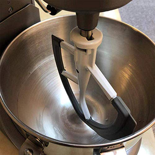 Flex Edge Beater for KitchenAid Bowl-Lift Stand Mixer, 6 Quart Flat Beater Blade with Flexible Silicone Edges, Perfect 6 QT Bowl-Lift Stand Mixer Attachment, Mixer Accessory (Beater-metal)