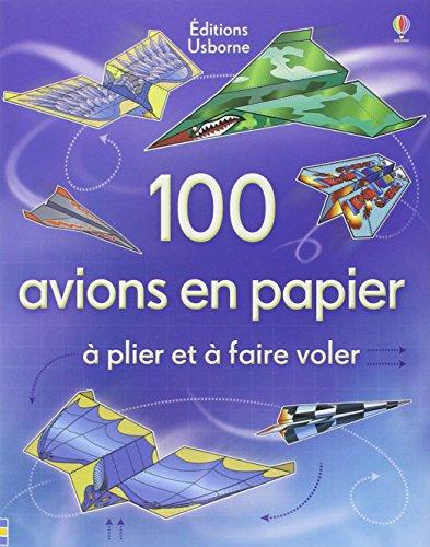 100 AVIONS EN PAPIER