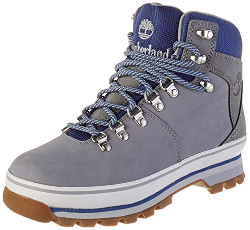 Timberland Damen Euro Hiker Fabric/Leather Waterproof Chukka Boots, Grau (Grigio (Sleet) Tb0a2b8p0501), 37.5 EU