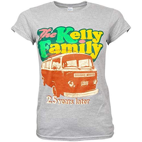 The Kelly Family 2019 Camper Van Ladies Tour T-Shirt grau (L)