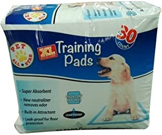 Training Pads Extra Large Puppy Pad 26 inch x 30 inch 30 count
