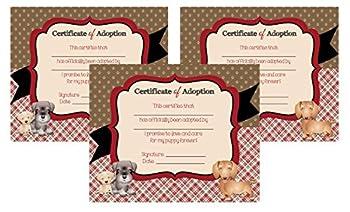 Best pet adoption certificate Reviews