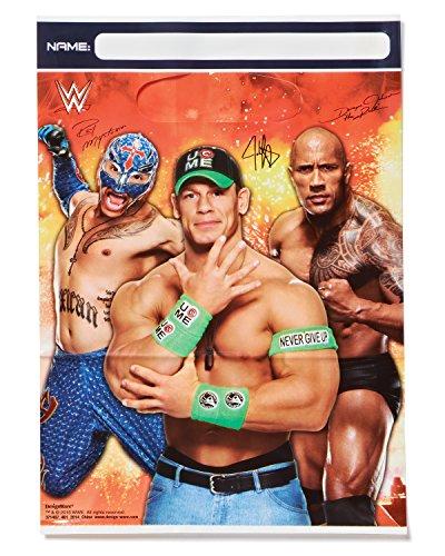 WWE Goodie Bags (Pack of 8)