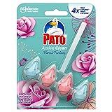 PATO®Active Clean - Colgador WC, Frescor Intenso, Perfuma, Limpia y Desinfecta, Aroma Floral...