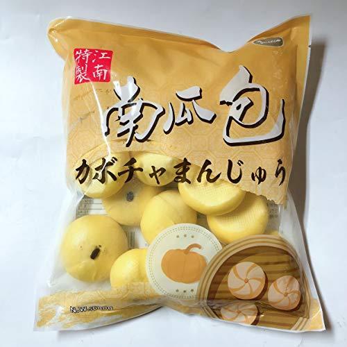 江南特製南瓜包 カボチャまんじゅう かぼちゃ 饅頭 冷凍食品 中華饅頭