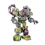 PLMN Giocattoli Trànsforměrs, 6 in 1 devastatore devastatore Giocattoli Giocattoli Boy Robot Auto ingegneria Camion Modello Anime Figura Azione