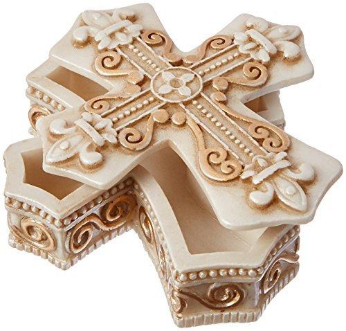 FASHIONCRAFT Motif Vintage Croix à Bijoux et boîte à Bijoux