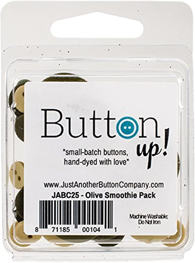 Button Up! JABC2531 Smoothie Pack, Olive