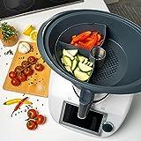 Séparateur de cuisson en silicone Mixcover pour chambre à vapeur...