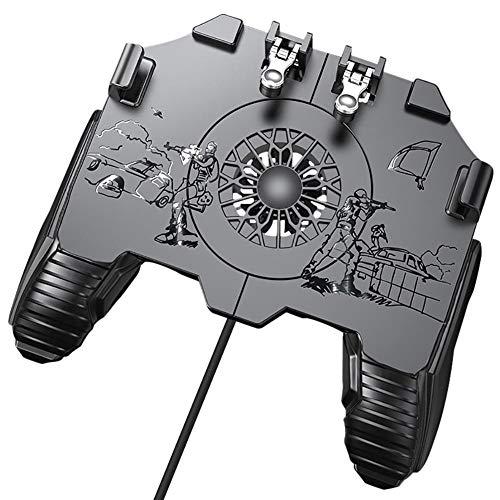 HJUI Controlador De Juegos Móvil, Gamepad De Teléfono De 4