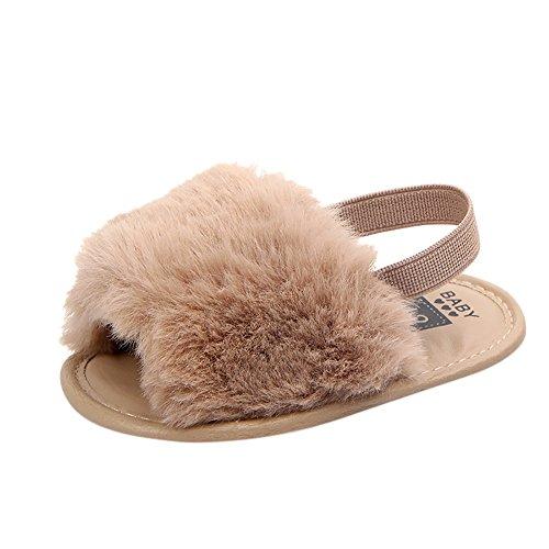 Allence Kinderschuhe Mädchen, Hausschuhe Plüsch Lauflernschuhe Hausschuhe Schlappen Schuhe Pantoletten Clogs Krabbelschuhe Babyschuhe Strandschuhe Stoffschuhe Sandalen