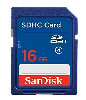 SanDisk Flash 16 GB SDHC Flash Memory Card SDSDB-016G  Label May Change