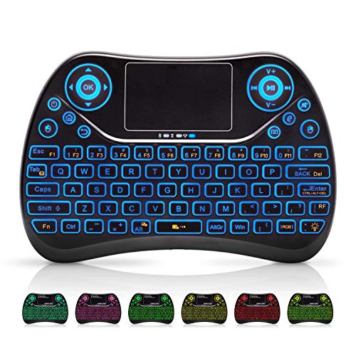 Our #6 Pick is the AMBOLOVE Mini Wireless Keyboard