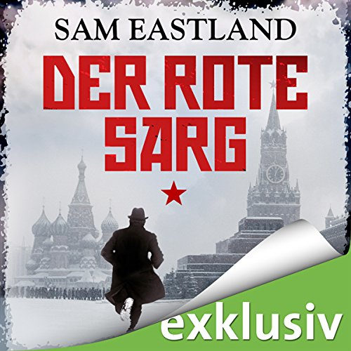 Der rote Sarg audiobook cover art