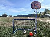 LCQI Torwart-Fußball scherzt Korb-Basketball-Haus-Garten