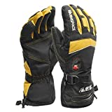 Bruce Dillon Waterproof Heated Gloves Battery Powered For Motorcycle Cycling Ski Gloves Winter Warmer Motor Gloves - A2 X XL